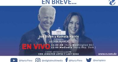 EN VIVO: Joe Biden y Kamala Harris asumen como presidente y vicepresidenta de EE.UU.