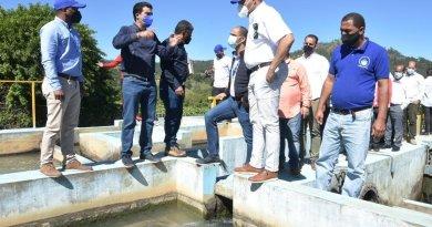 Inapa y Coraavega acuerdan restaurar acueductos de La Vega
