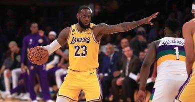 LeBron James lidera la sexta victoria seguida de Lakers