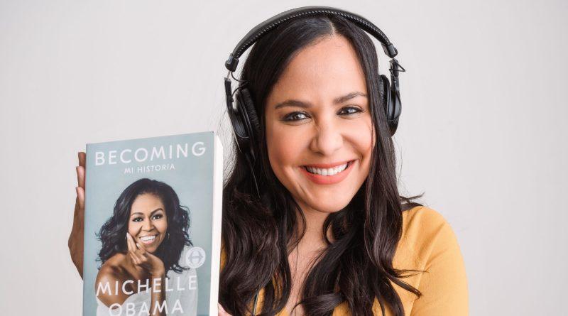 Jane Santos, la voz dominicana de Michelle Obama y Kamala Harris