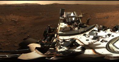 Nueva imagen de Marte del sitio de aterrizaje del rover Perseverance muestra el planeta rojo en HD