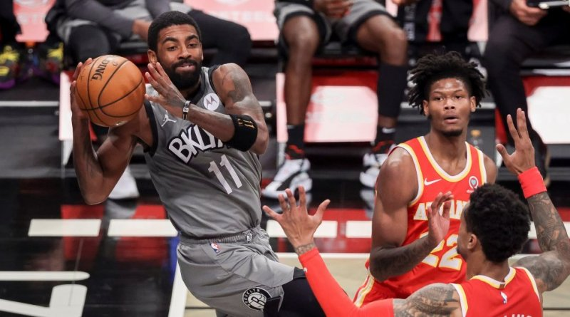 Irving anota 40 y Harden logra triple-doble en ausencia de Kevin Durant