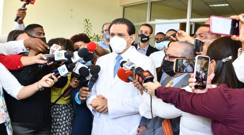 Ministro Rivera afirma que el rebrote tras Semana Santa está controlado