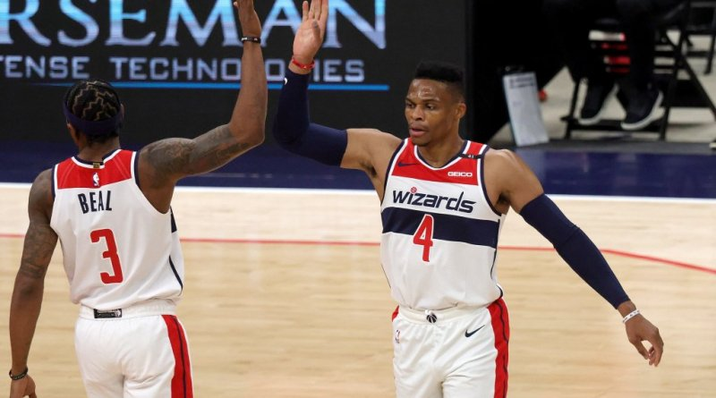 Beal, Westbrook y Neto ponen a Wizards a un paso del play-in