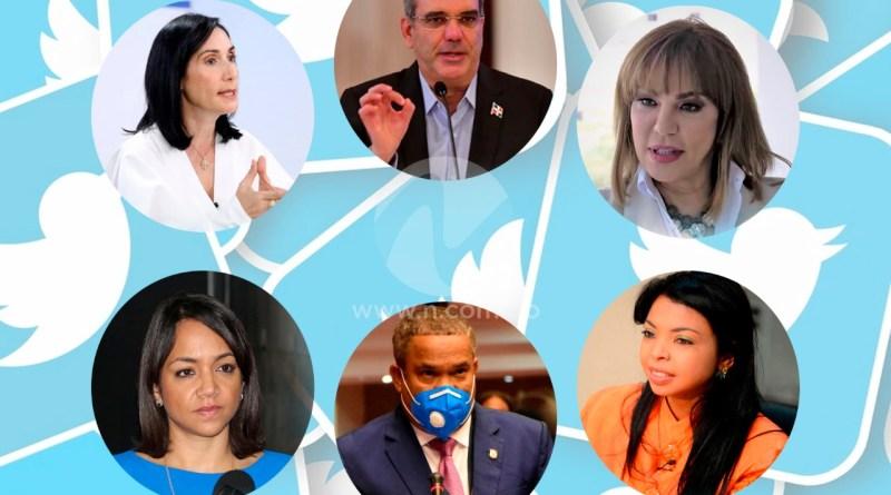 Abinader, legisladores y otros funcionarios públicos del PRM se mantienen activos en redes sociales