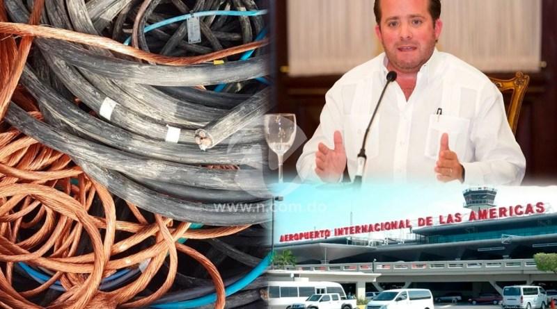 """Como """"simple vandalismo"""" calificó Paliza el robo de cables que afectó decenas de vuelos en el AILA"""