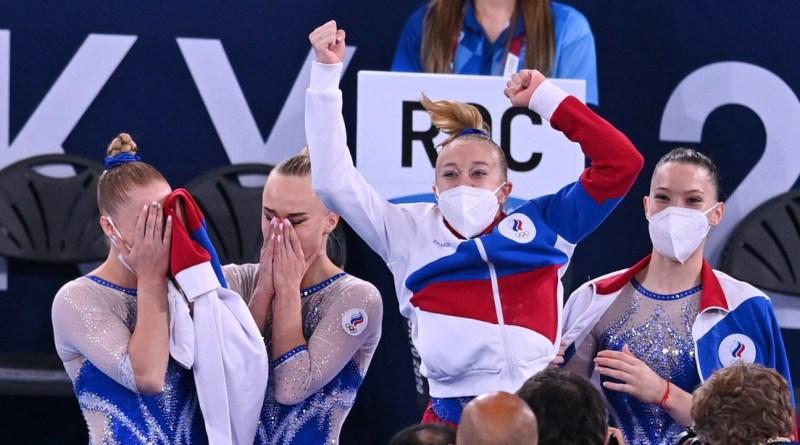 Gimnastas rusas ganan el oro en la categoría por equipos en los JJ.OO. por primera vez en su historia
