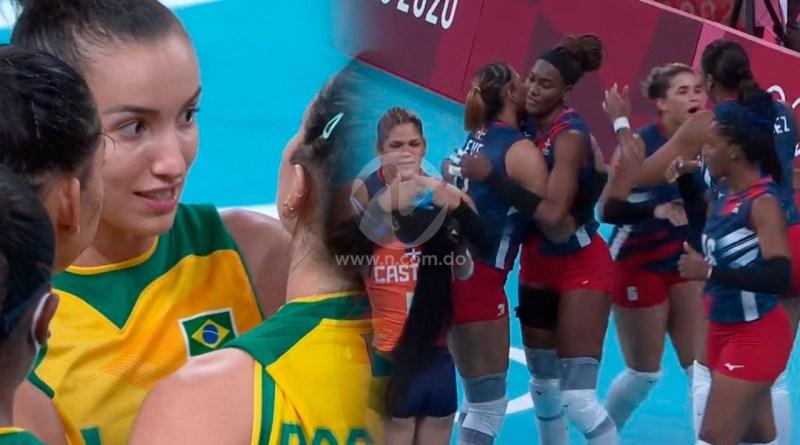 Brasil vence 3-2 a las Reinas del Caribe en Juegos Olímpicos Tokio 2020
