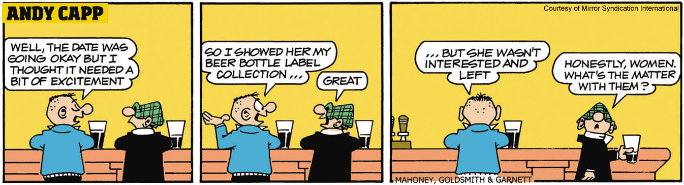 Andy Capp Beer Label Collection