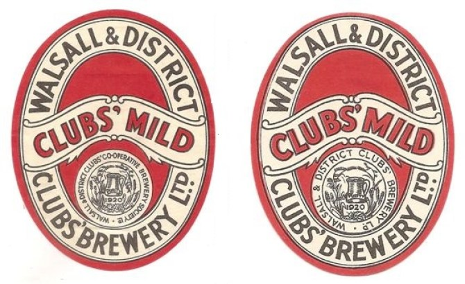 Walsall & District Clubs comparative