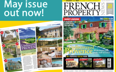 La Bomba featured in the May 2017 issue of French Property News