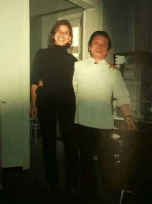 Marion Gredig mit Prof. Dr. Asami Tanaka