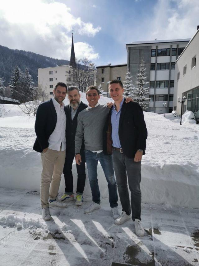 Organisatoren Dentalpin mit Gründer Dr. Andreas Grimm
