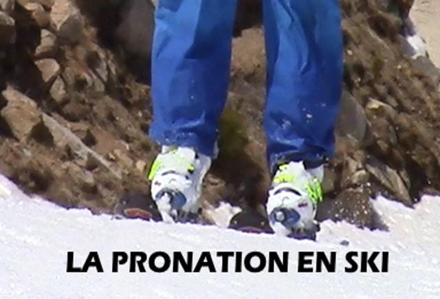 LE PIED DANS LA CHAUSSURE DE SKI : Le mythe de la pronation et de l'affaissement de la voute plantaire