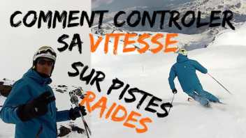 Technique de ski-comment controler sa vitesse en ski1