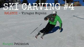Ski carving 4 - morgan petitniot virages moyens