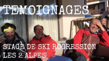 Témoignage stage de ski progression les 2 alpes - labo du skieur