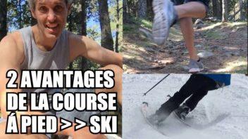 2 avantages de la course a pied pour le ski