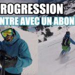 [Vidéo] Ski Progression : Rencontre avec un abonné : 1 piste, 2 conseils + Progression