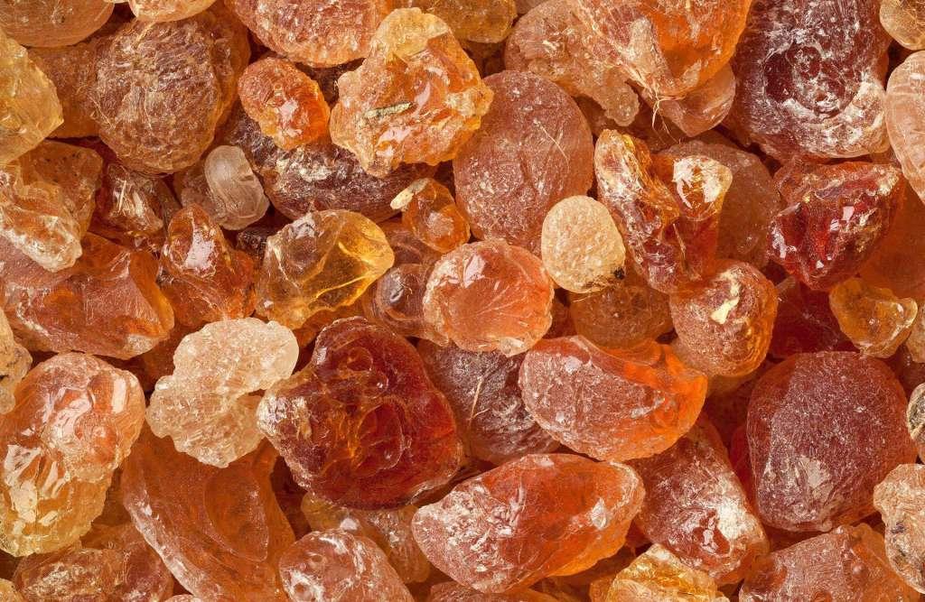 Gum arabic - Guar gum