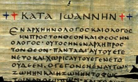 Nel Prologo del Vangelo di Giovanni il segreto della vita