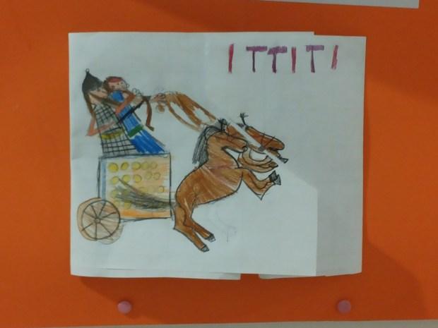 Sul minibook degli Ittiti è stato disegnato il carro da guerra che fece di loro dei conquistatori!