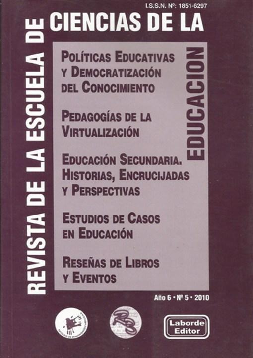 Revista de la Escuela de Ciencias de la Educación nº 5