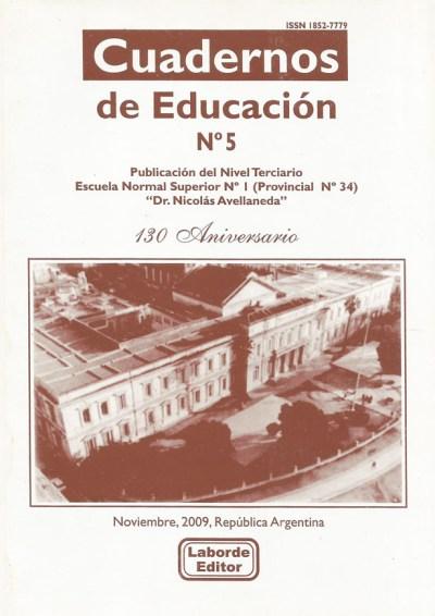 Cuadernos de Educación Nº5