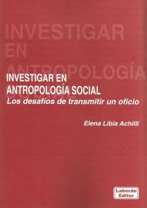 Investigar en antropología social