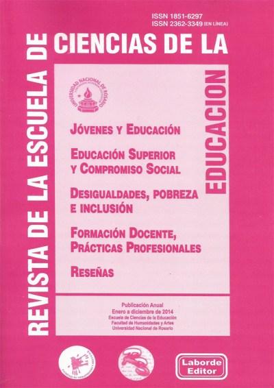 Revista de la Escuela de Ciencias de la Educación nº 9