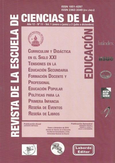 Revista de la Escuela de Ciencias de la Educacion n 11