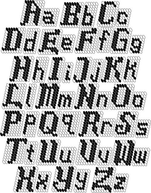 1747.- Tapestry crochet o jacquard con ganchillo - LABORES EN RED
