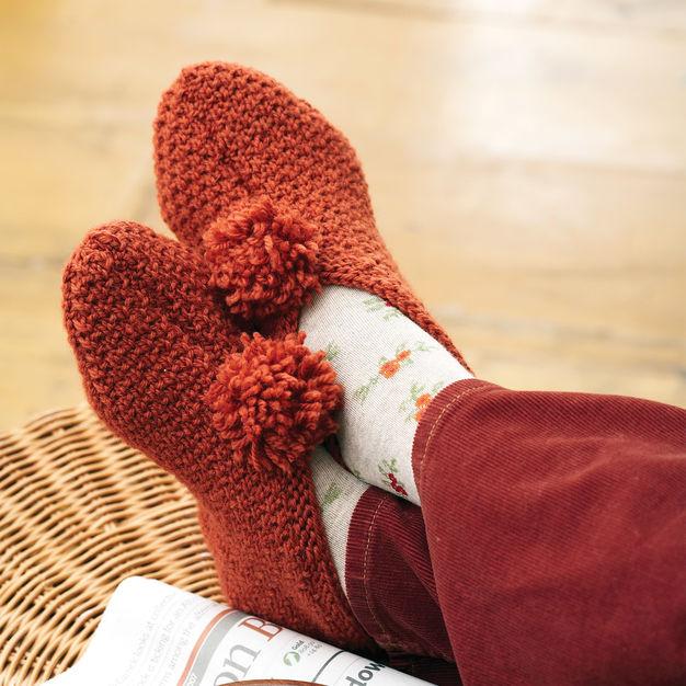 zapatillas de punto