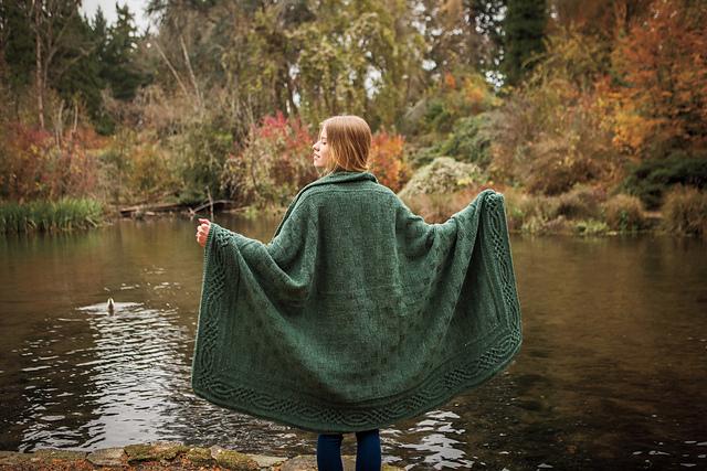 mantas tejidas a mano Stornoway Throw by Anita Grahn