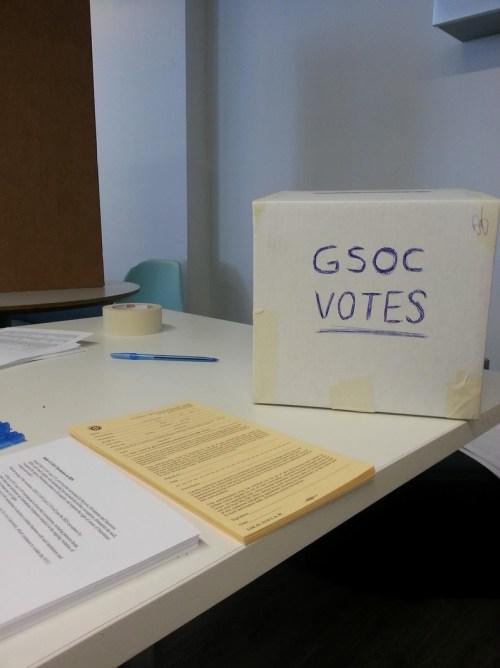 gsoc-votes