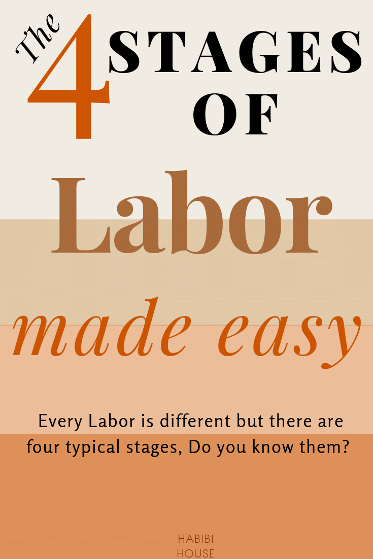 A Incredibly Simple Explanation of The Four Stages of Labor
