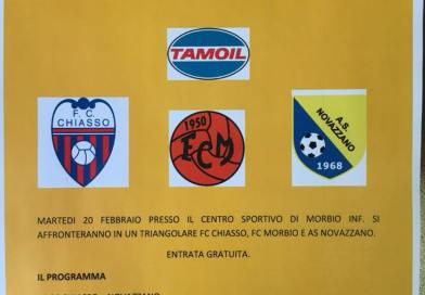 Chiasso, Morbio e Novazzano pronti al Trofeo Tamoil