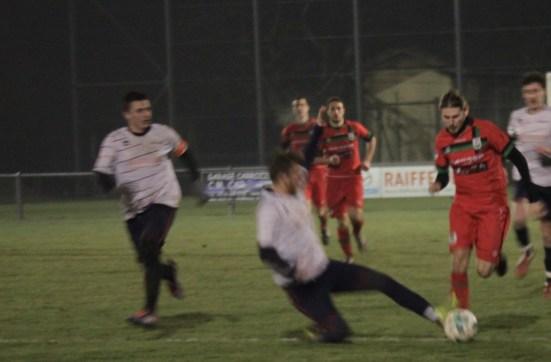 Luca Luglio in azione