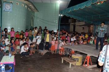 Ketua Panitia dari Sanggar Perkasa membuka acara.