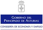 Logotipo Consejería Asturias Economía y empleo