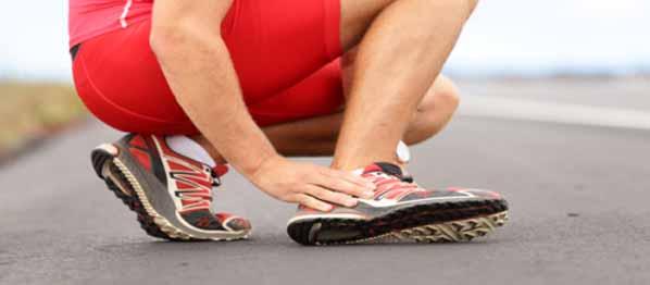 Esguince de tobillo: síntomas y primeros auxilios