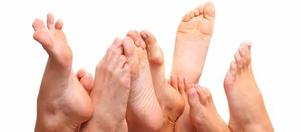 Consejos para solucionar los problemas más comunes de los pies