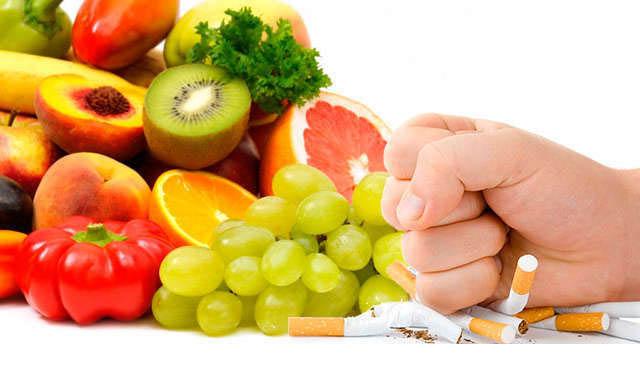 Interacción del tabaco y la nutrición