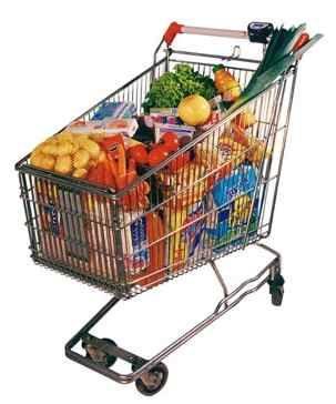 Consejos para llenar el carro de la compra con opciones más saludables