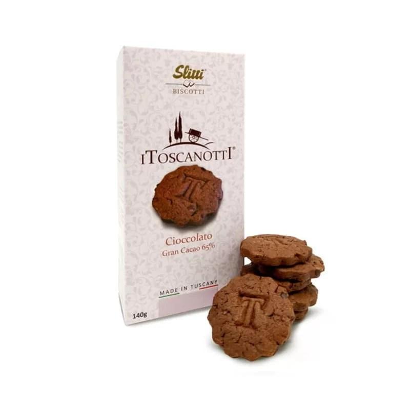 Biscuiti Cioccolato Cacao 65 % I Toscanotti Slitti