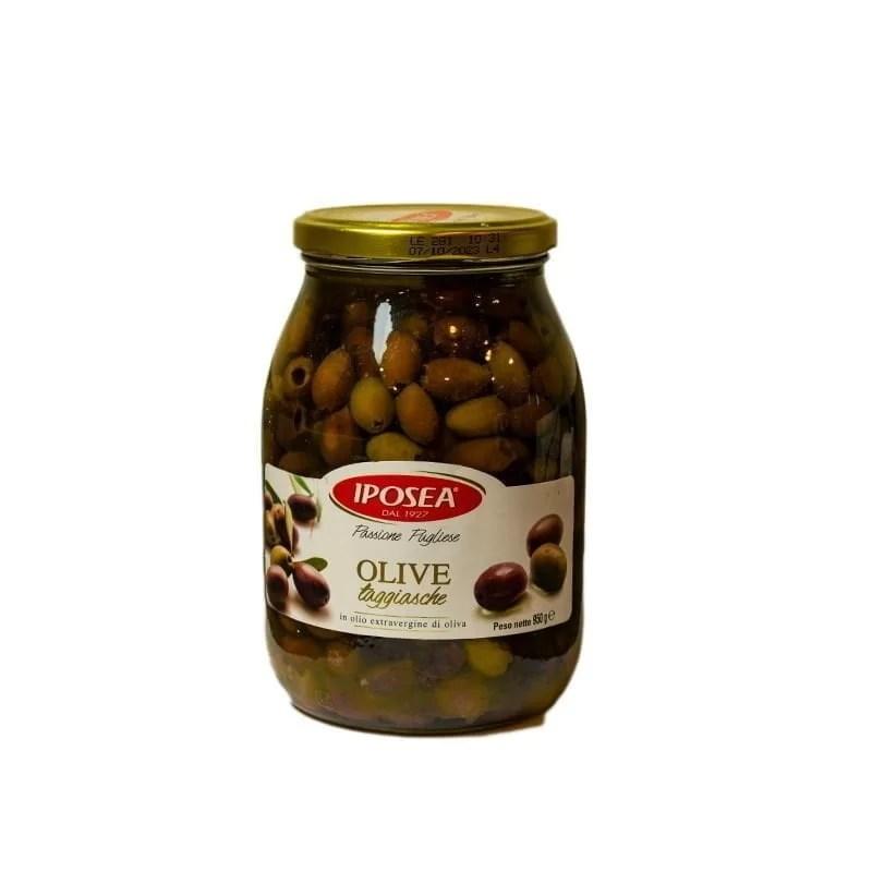 Masline Taggiasca in Ulei de Masline Olive Taggiasche Iposea