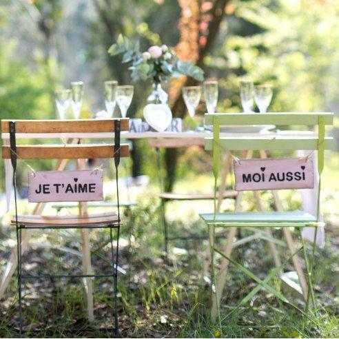 déco mariage chaise