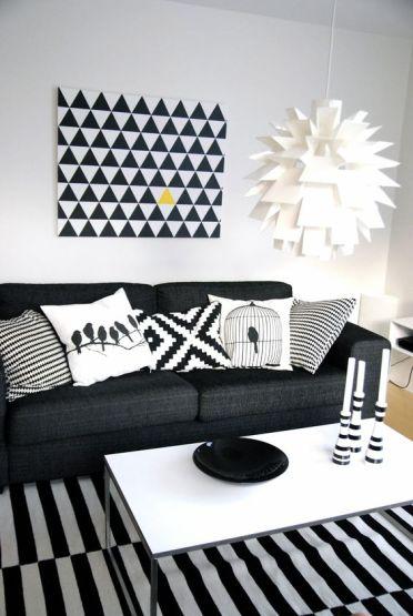 motifs noir et blanc