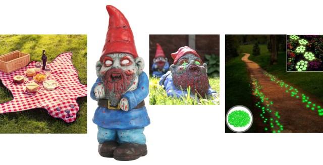 objets déco insolites jardin
