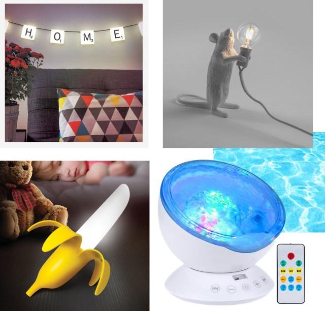 objets déco insolites luminaires